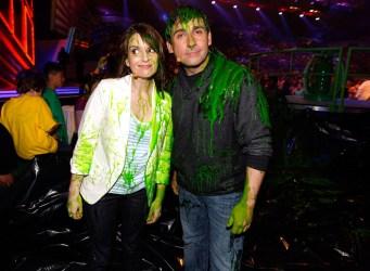 Tina Fey and Steve Carell