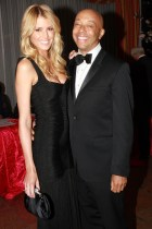 Paige Butcher and Russell Simmons