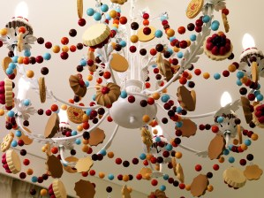 Maison Moschino hotel - Sweet Room's Chandelier