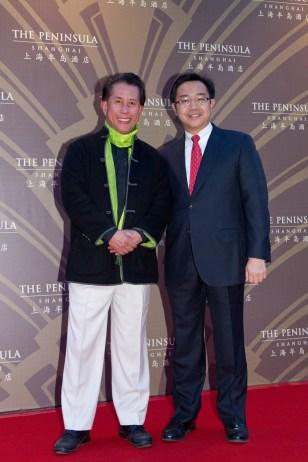 Mr Martin Yan and Mr Paul Tchen