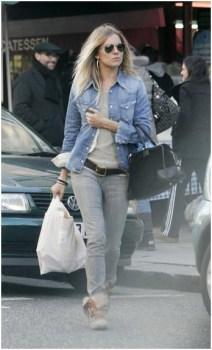 Sienna Miller in Genetic Denim