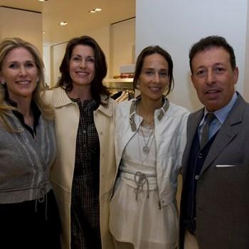 Fiona Rudin, Diana DiMenna, Marcia Mishaan and Massimo Caronna