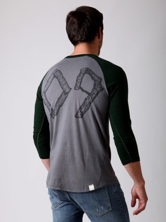 Loomstate Act Natural Baseball T-shirt (back): Original Retail: $80, Gilt: $15