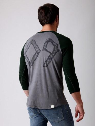 Loomstate Act Natural Baseball T-shirt (back): Original Retail: $80, Gilt: $15