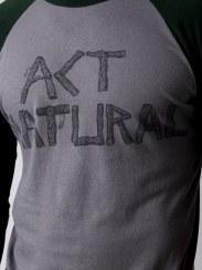 Loomstate Act Natural Baseball T-shirt