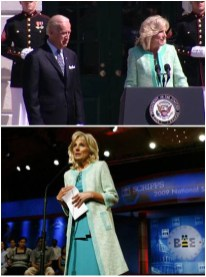 Dr. Jill Biden wearing MILLY