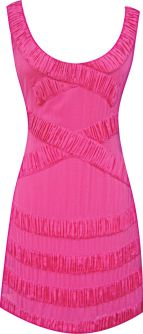 Modern Rose Shift Dress in Pink, $320