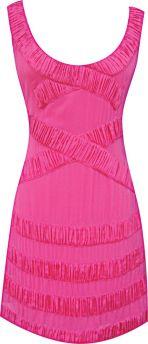 Modern Rose Shift Dress in Pink, $320