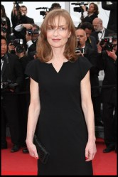 Isabelle Huppert carries Swarovksi bag