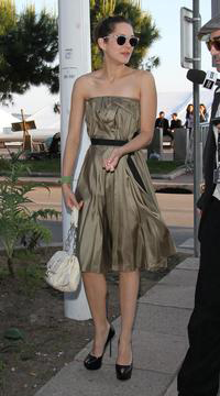 Marion Cotillard in Sergio Rossi shoes