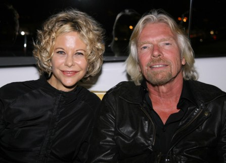 Meg Ryan and Sir Richard Branson
