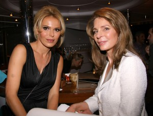 Diana Jenkins and Queen Noor of Jordan