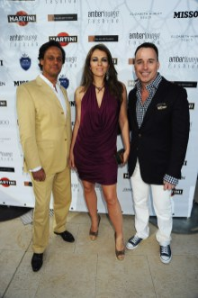 Liz Hurley; Arun Nayar; David Furnish