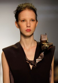 Jin Ok Kwak, BFA Fashion Design, and Killean Evans, MFA Fine Art Sculpture