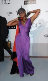 Grace Jones in Christian Dior