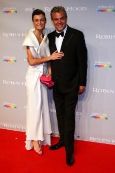 Lyne Renee and Danny Huston