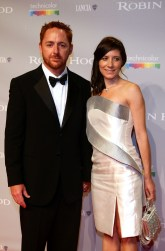 Scott Grimes and wife