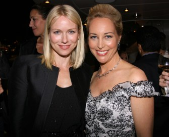 Naomi Watts and Valerie Plame