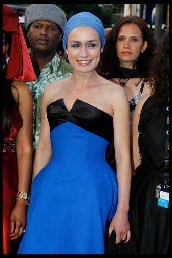 Sandrine Bonnaire is wearing Montblanc