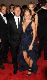 Jude Law and Sienna Miller in Emilio Pucci