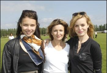Mariya Vinogradova, Angelique Bohbot, Georgia May Jagger
