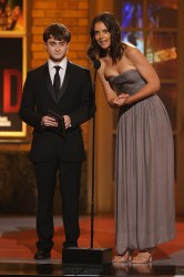 Daniel Radcliffe and Katie Holmes