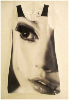 Edie with Chain by Nat Finkelstein Cotton Twill Dress, $1295