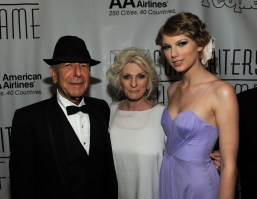 Leonard Cohen, Judy Collins and Taylor Swift