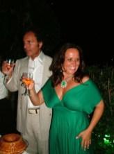 Capri - Il Console Onorario della Bulgaria Avvocato Gennaro Famiglietti e la moglie Rosy Mauriello