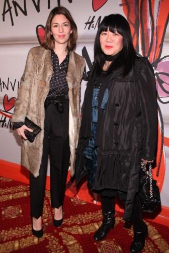 SofiaCoppola and Anna Sui