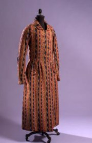 Man's dressing gown, 1845, USA