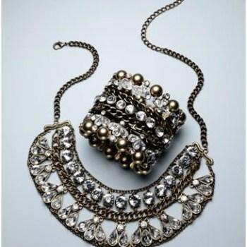 Nisha Necklace $68.00; Nisha Bracelet $58.00