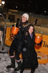 Clicquot in the Snow event at Bryant Park