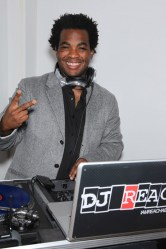 DJ Reach at the Clicquot in the Snow event