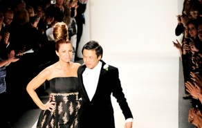 Zang Toi on the runway Fall 2011 show (Feb 2011 New York)