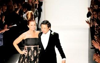 Zang Toi on the runway Fall 2011 show (Feb 2011 New York)