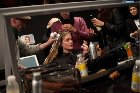 Backstage Sonia Rykiel Fall/Winter 2011
