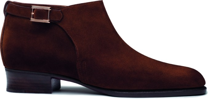 Tokyo low boot - tobacco brown suedeLD