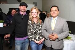 Marti Zmolik, Jenny Vitucci and Elias Rodrigues