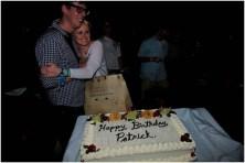 Patrick Carney of The Black Keys and fiancé Emily Ward