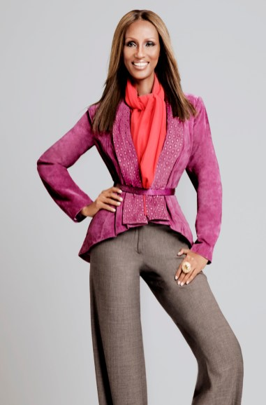 Perforated Suede Jacket - Raspberry