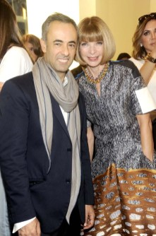 Francisco Costa and Anna Wintour