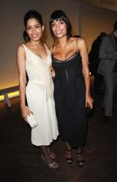 Frieda Pinto and Rosario Dawson