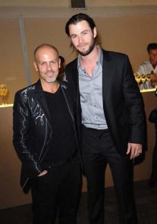 Italo Zucchelli and Chris Hemsworth