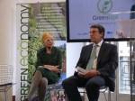 Vivienne Westwood and Achim Steiner