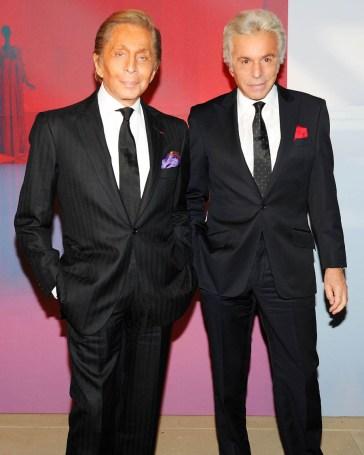 Valentino Garavani and Giancarlo Giammetti Celebrate launch of Valentino Virtual Museum