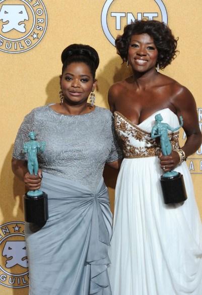 Octavia Spencer and Viola Davis