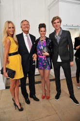 Poppy Delevigne, Charles Delevingne Saskia Boxford and James Cook