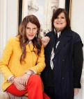 Anna Dello Russo(left) and Margareta van den Bosch (right)