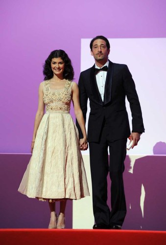 Audrey Tautou and Adrien Brody